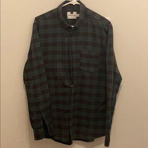 L - Topman Plaid Shirt